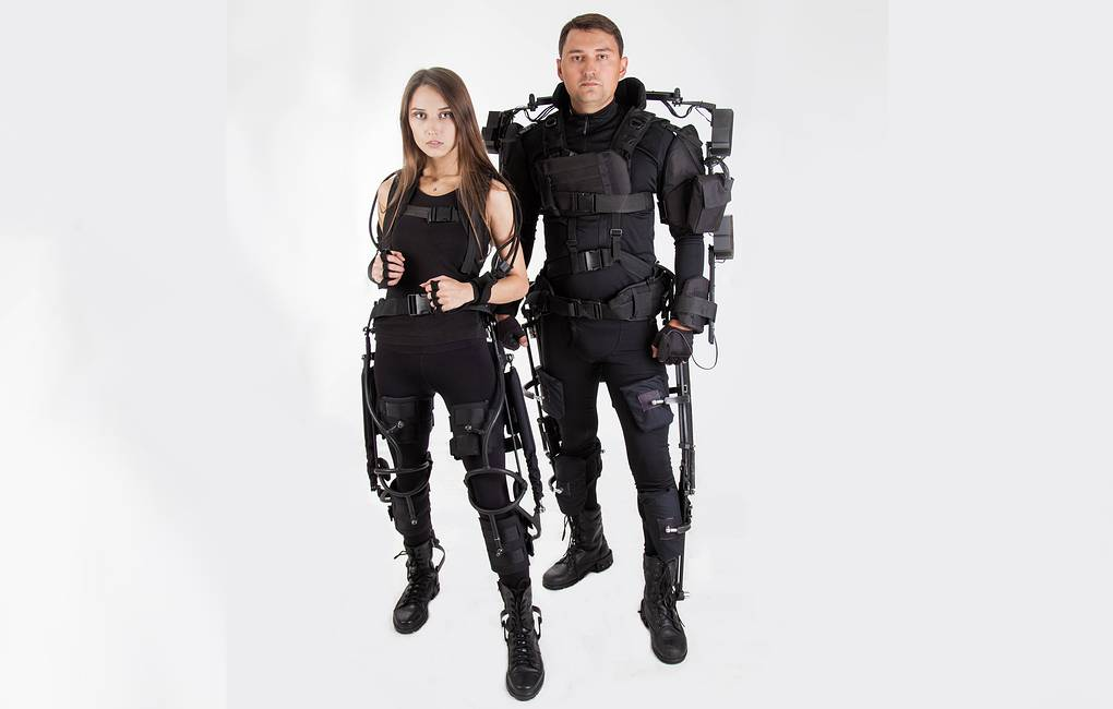 Rostec Creates Exoskeleton for Workers