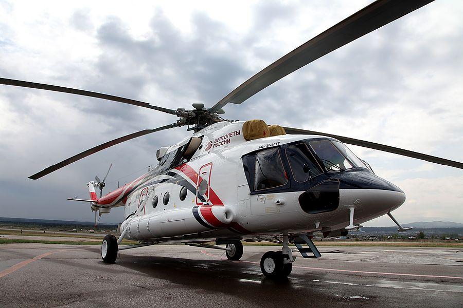 Ростех выпустил первый гражданский арктический вертолет Ми-8АМТ