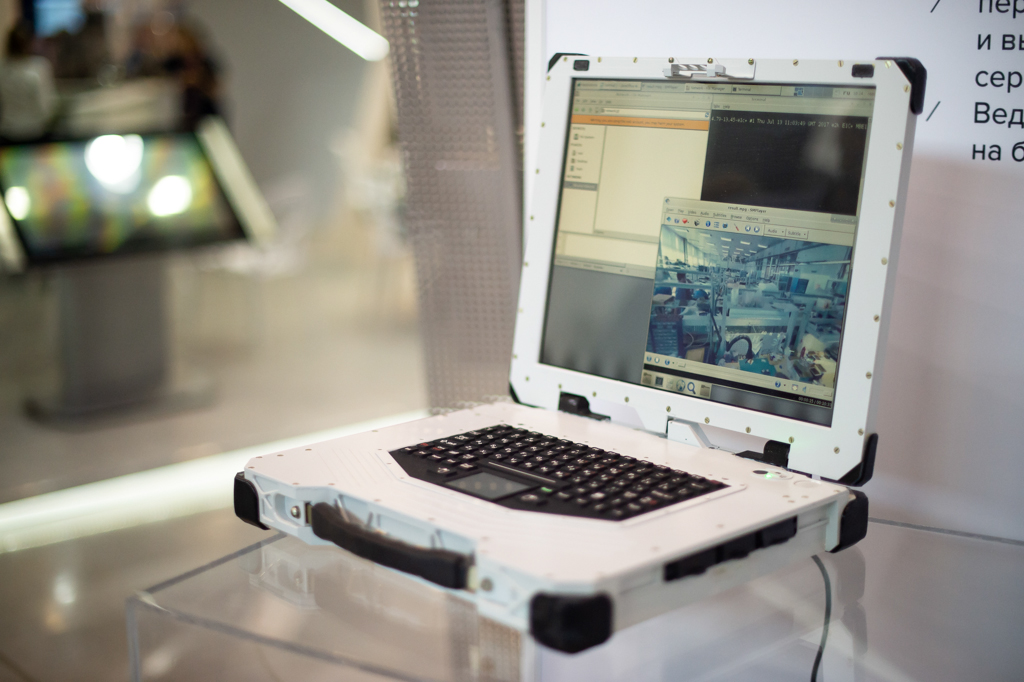 Rostec Presents Ultra-High Strength Laptop For Extreme Conditions