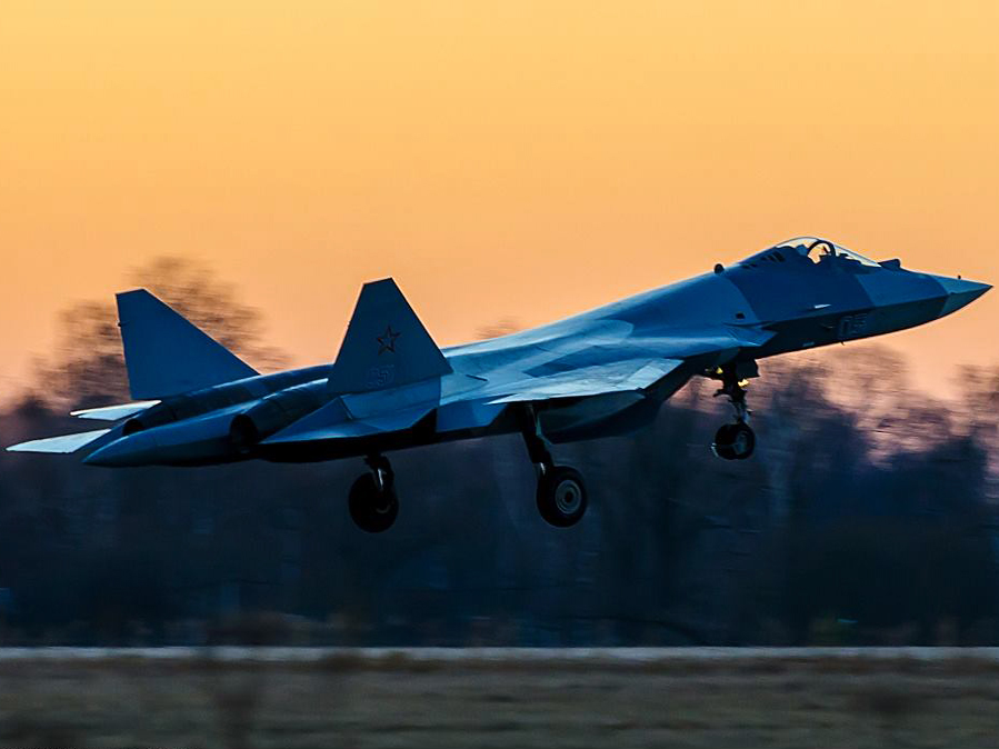 KRET has created a new navigation system for the T-50 fighter jet