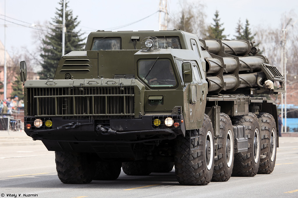 Tecmash will Parade Rocket Artillery on Victory Day