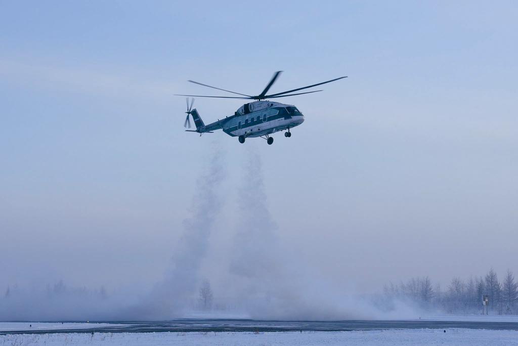 Вертолет Ми-38 прошел проверку в условиях низких температур