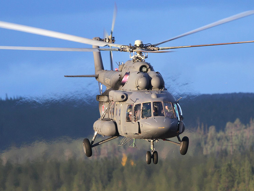 Anniversary model Mi-17 ready to send to India