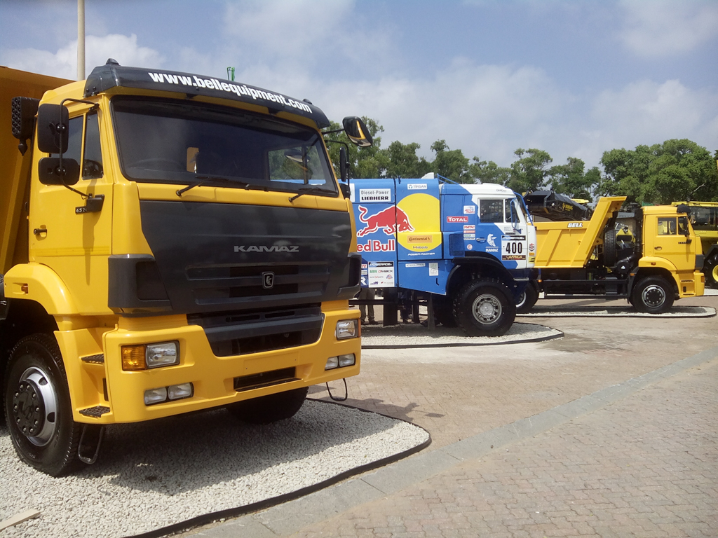 KAMAZ Started Exporting Their Trucks to South Africa