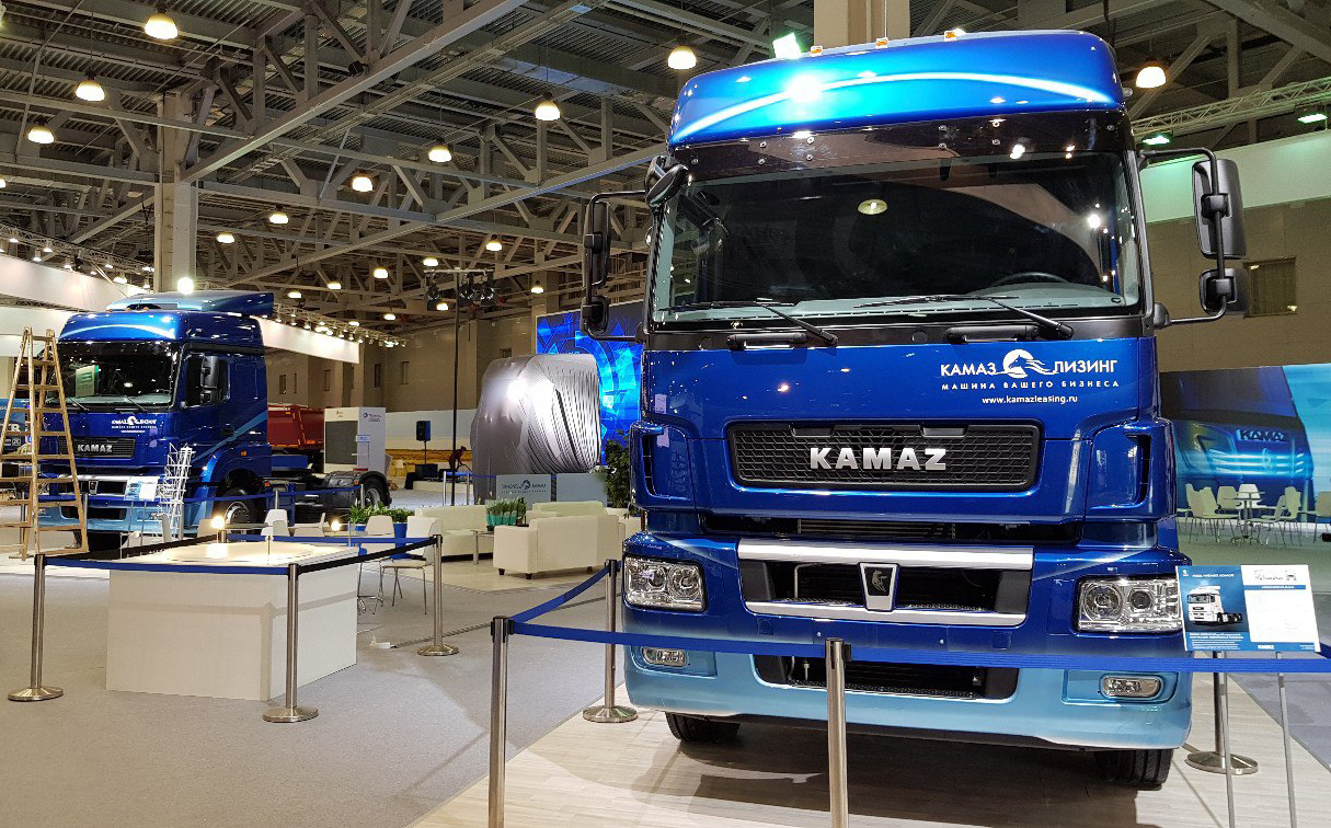 KAMAZ Presents a New Vehicle With the K5 Generation Cabin