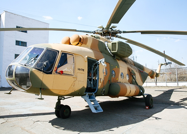 Russian Helicopters has made its first Mi-171E helicopter delivery to Pakistan