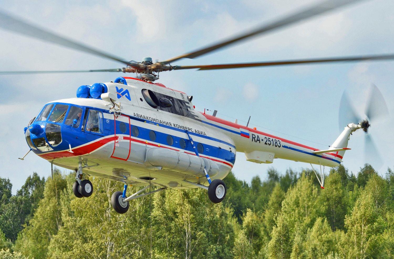 «Вертолеты России» передали авиакомпании «Конверс Авиа» два Ми-8АМТ