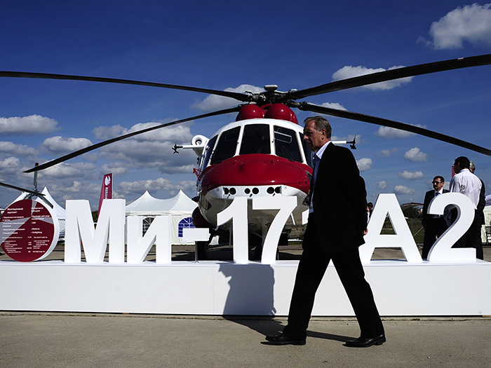 Russian Helicopters is testing the Mi-171A2 with the KBO-17