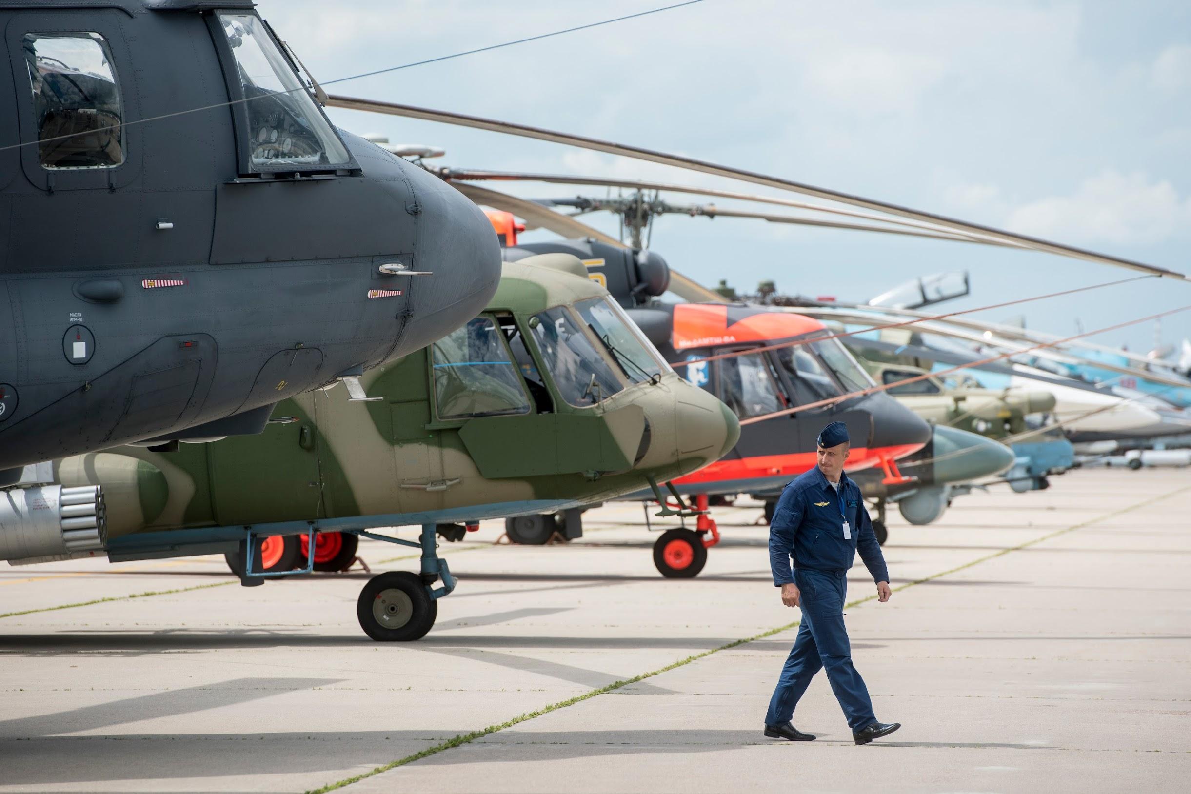 «Рособоронэкспорт» наращивает экспорт военных вертолетов