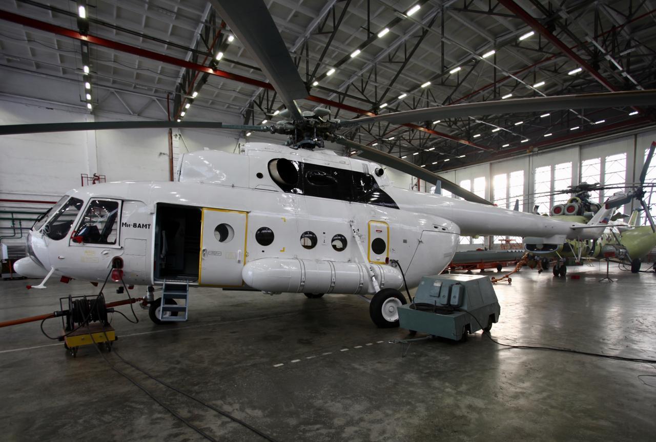 «Вертолеты России» передали первый Ми-8АМТ авиакомпании «Витязь-Аэро»