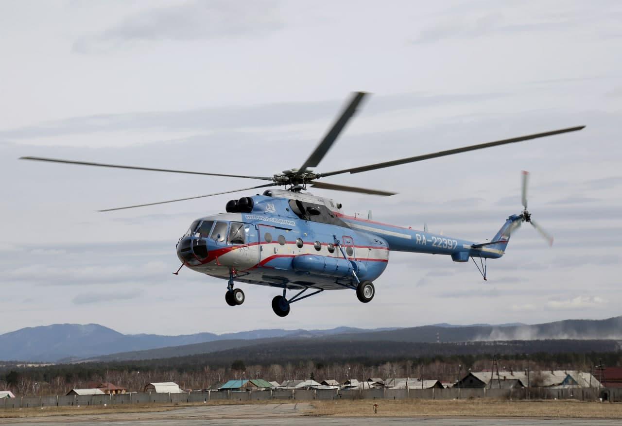 «Вертолеты России» передали два Ми-8АМТ для авиакомпании «Норильск Авиа»