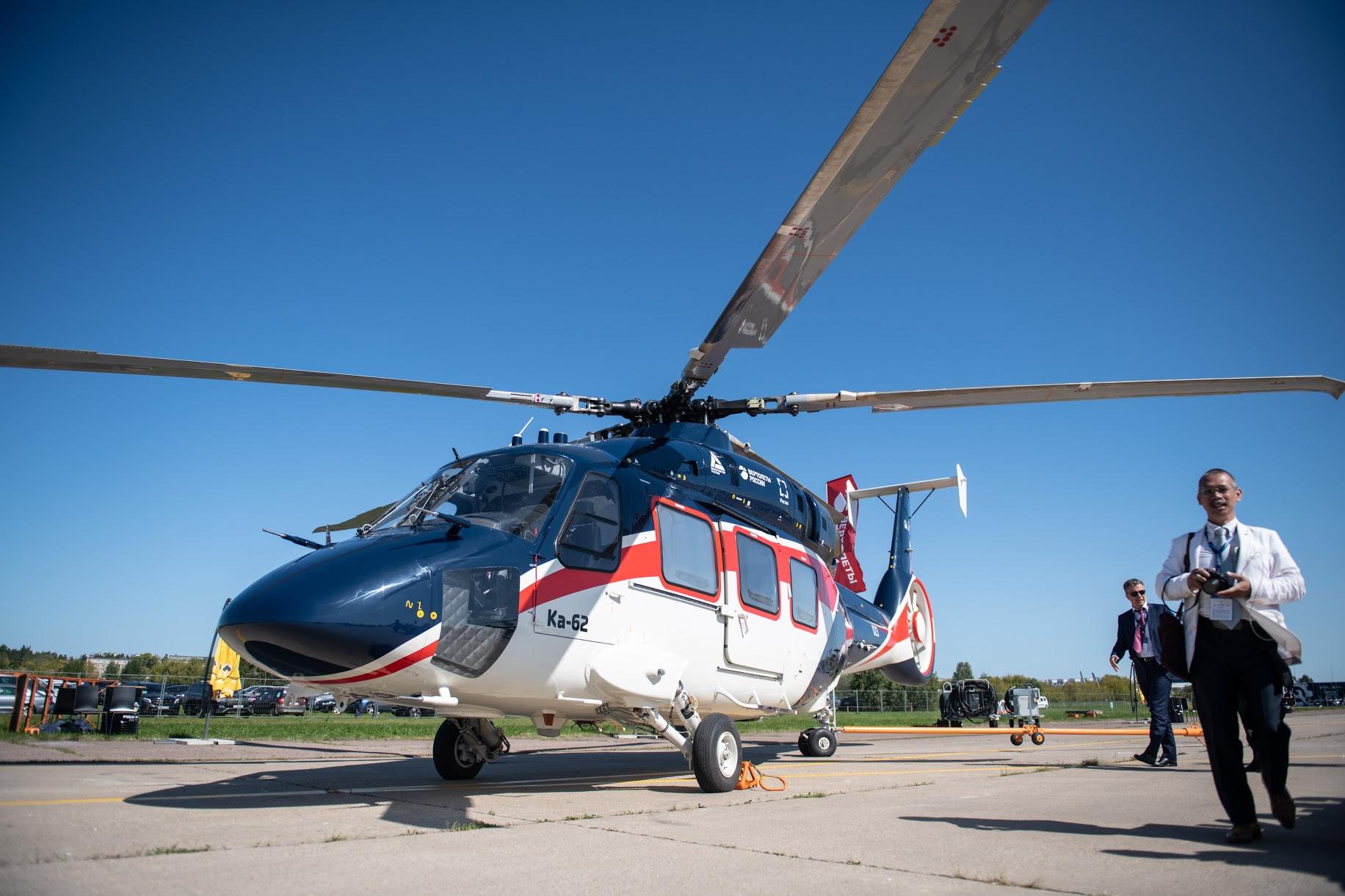 Ка-62 получит улучшенную систему управления бортовым оборудованием