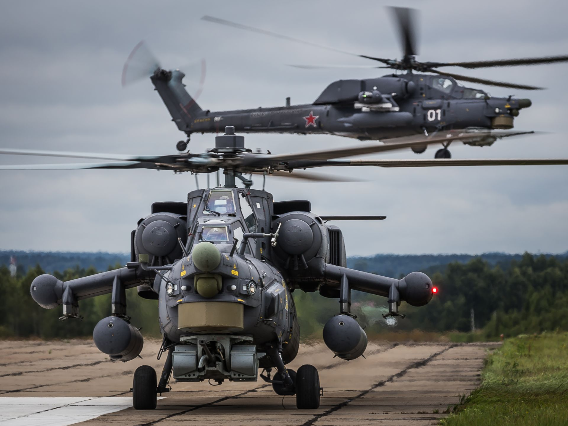 Mi-28N Night Hunter enters into service with the Russian Defence Ministry