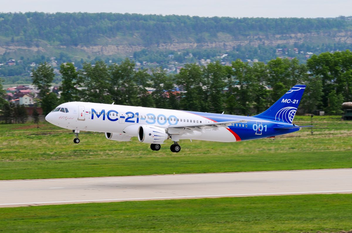 Rostec to Deliver 50 MC-21 Airplanes to Aeroflot