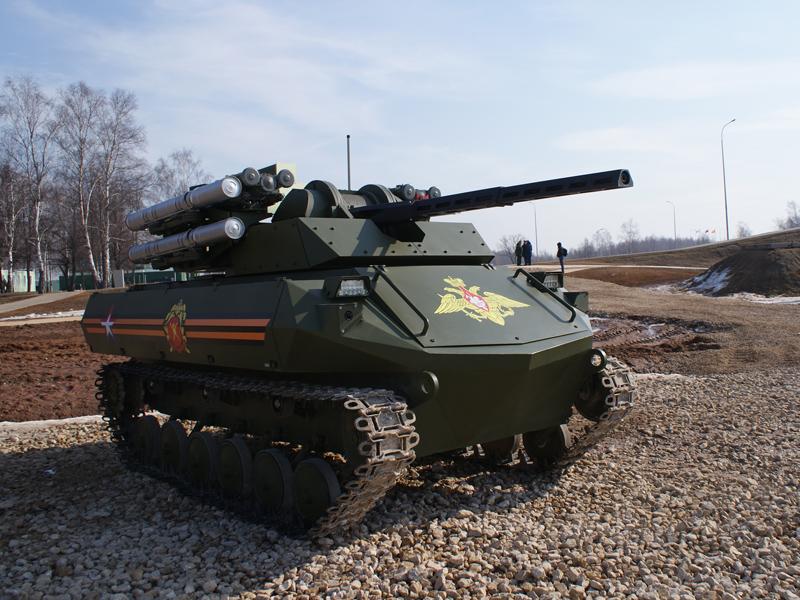 «Рособоронэкспорт» будет продвигать «Уран-9» на международный рынок