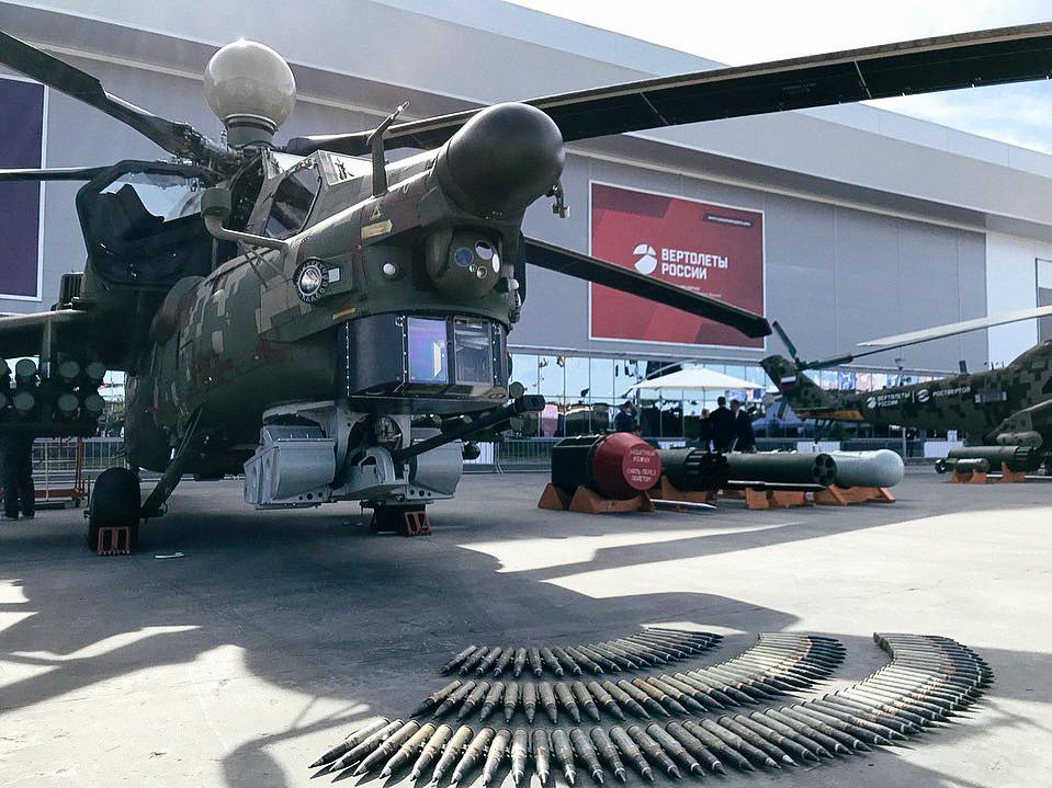 «Вертолеты России» показывают на «Армии-2019» модернизированный «Ночной охотник»