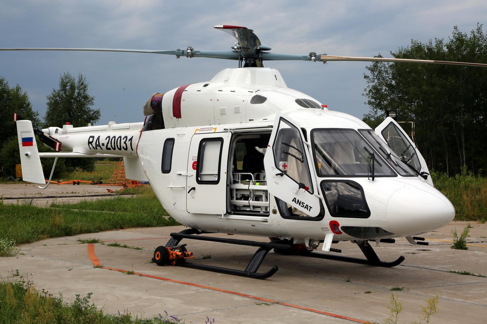 «Вертолеты России» передали партию «Ансатов» для санавиации