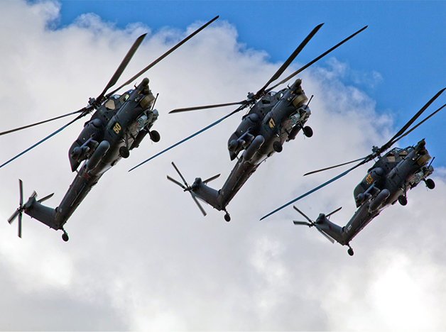 Helicopters with an Onboard President-S System Are Ready for Export