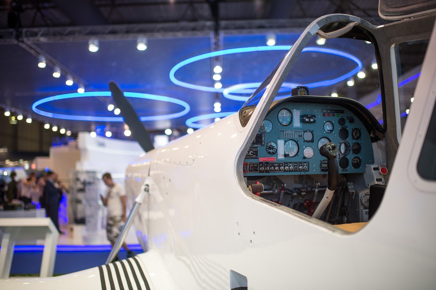 Rostec Presents T-500A Aircraft With Flotation Landing Gear