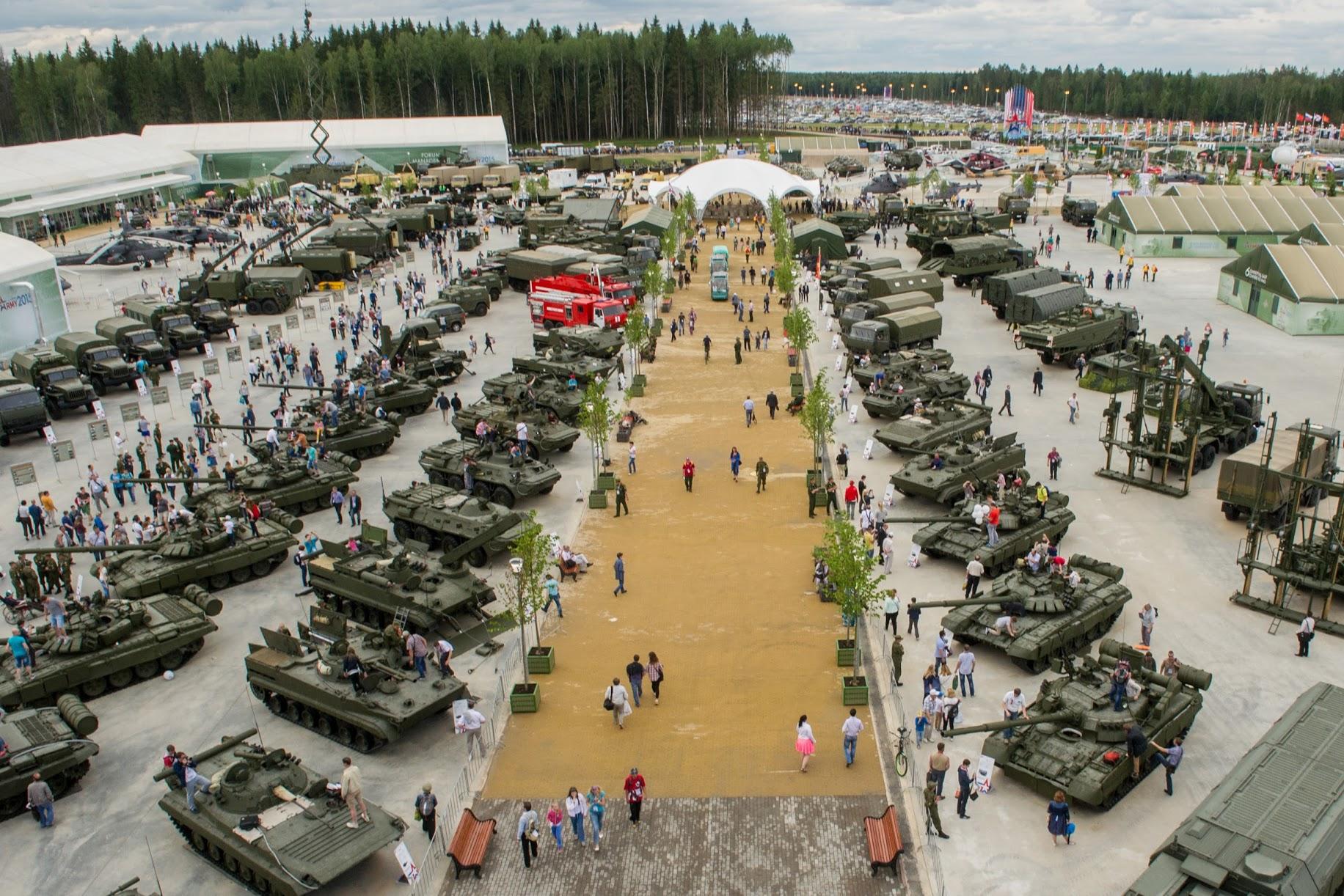 Ростех представит свыше 1100 разработок на «Армии-2020»