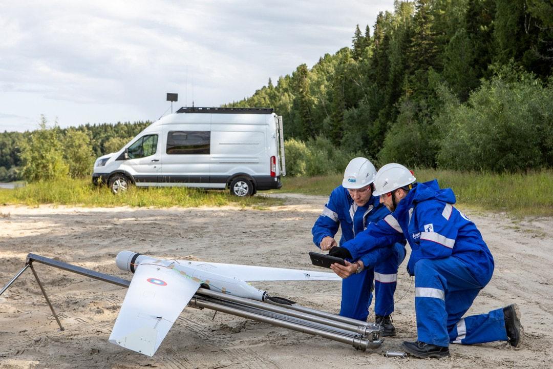 Беспилотники «Калашникова» следят за состоянием нефтепроводов в Югре