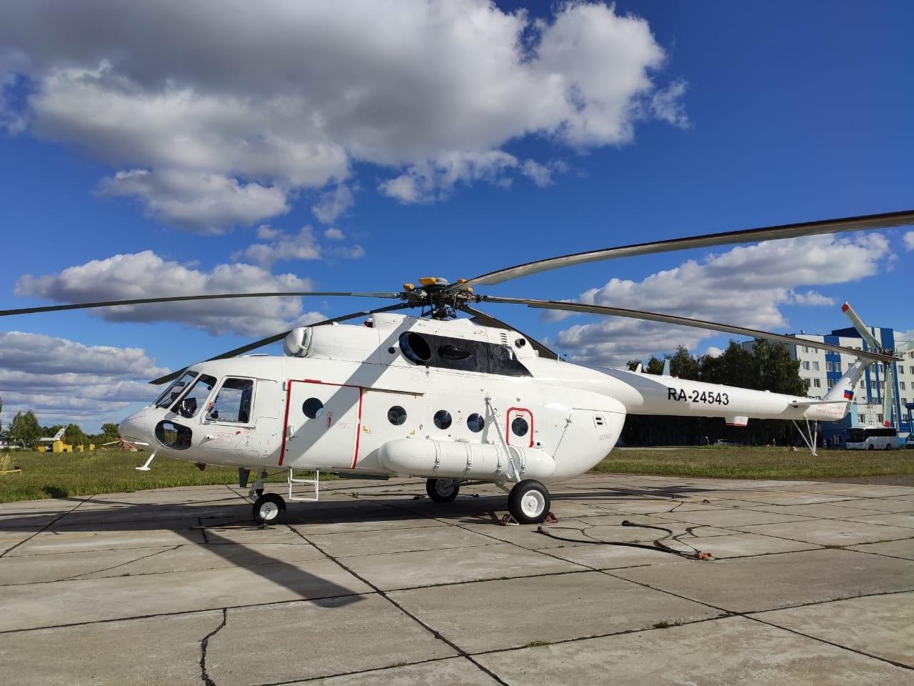 «Вертолеты России» передали заказчику партию из пяти Ми-8МТВ-1