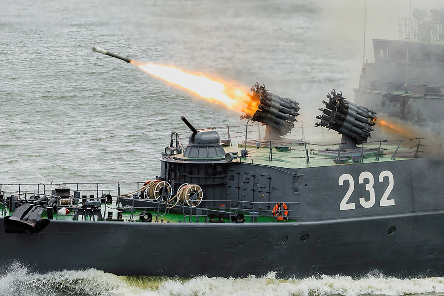 Rostec Provided New Missiles for Black Sea Navy