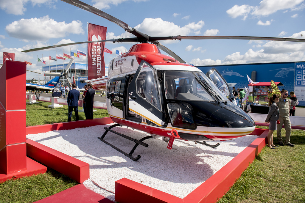 Russian Helicopters and United Helicopters signed contracts on delivery of 10 helicopters to China