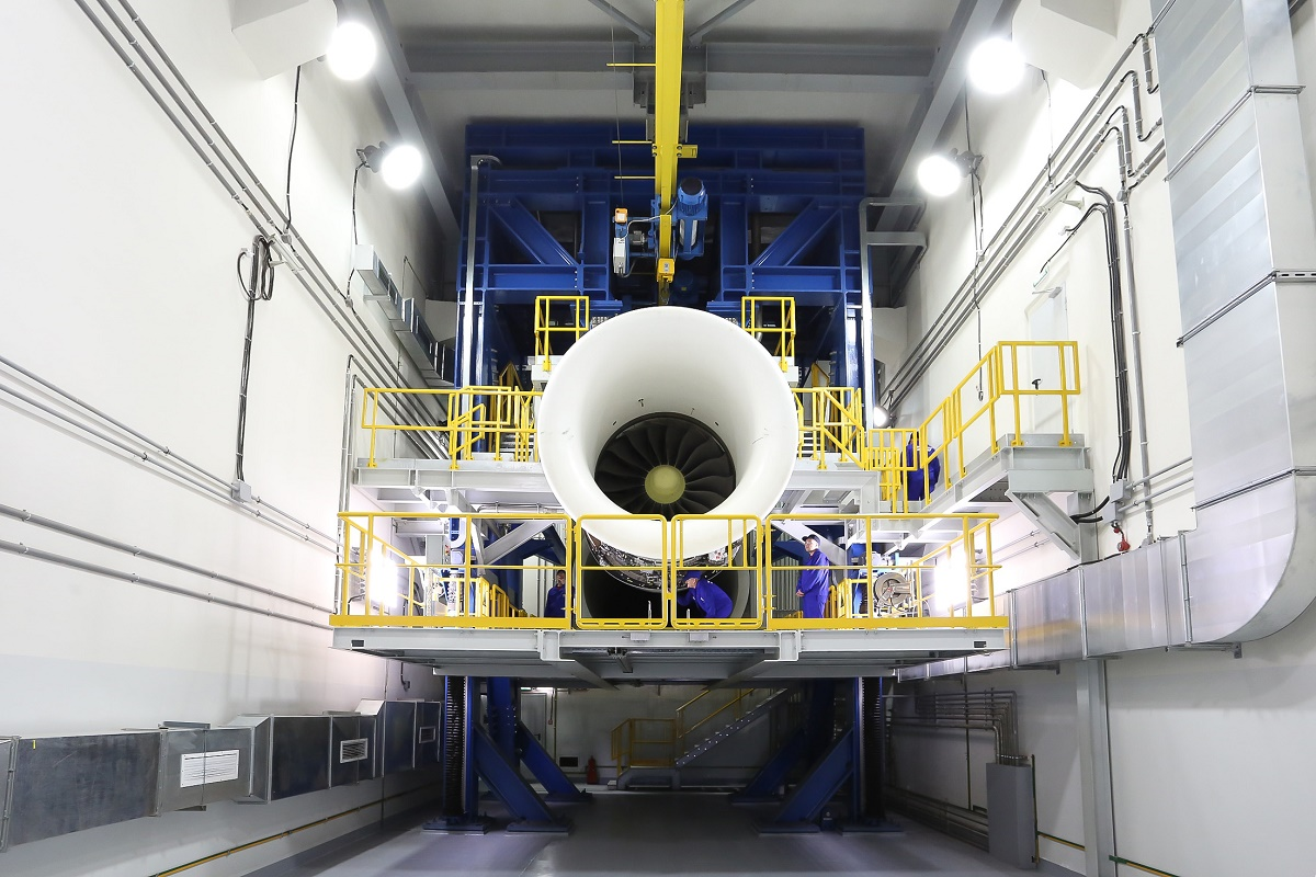 Rostec creates test complex for PD-35 aircraft engine