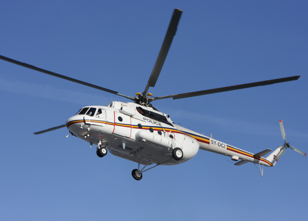 Russia delivered utility helicopter to Kenya