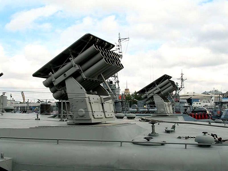 «Техмаш» повысил дальность стрельбы морских РСЗО в два раза