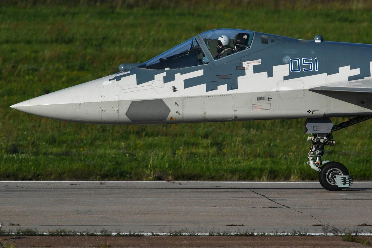 Кабина Су-57 оптимизирует общую производительность системы «человек – самолет»