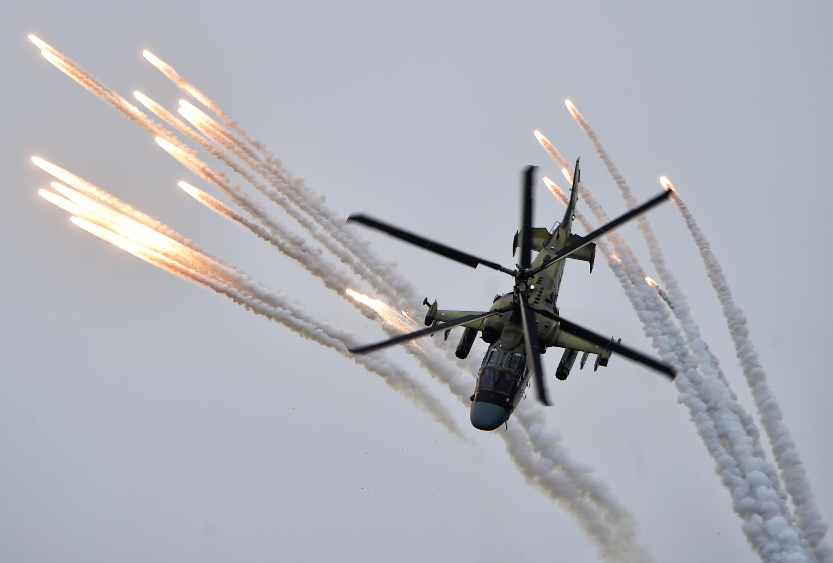 Обновленный Ка-52М совершил первый полет