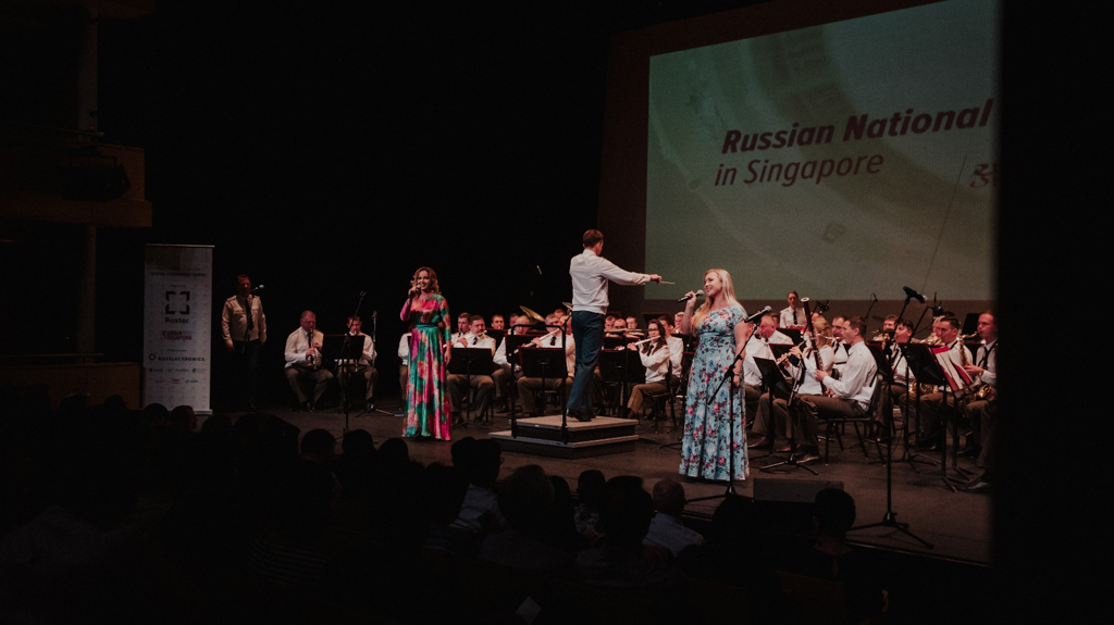 Rostec Held Russian Musical Days in Singapore
